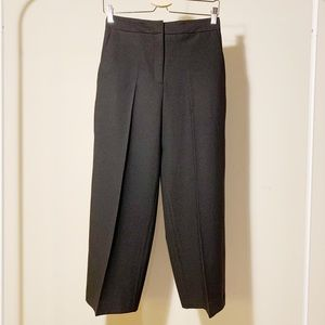 Zara Black Culottes Pants